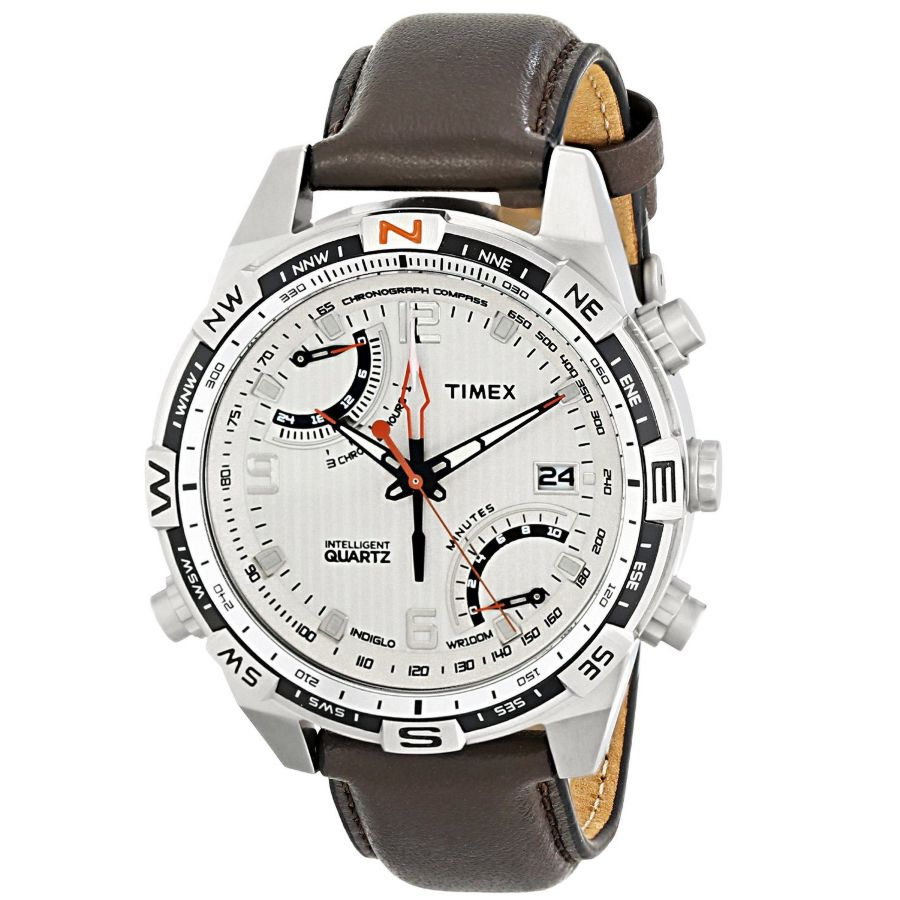 Timex adventure series fly back chrono compass gent s watch t49866 for Adventure watches