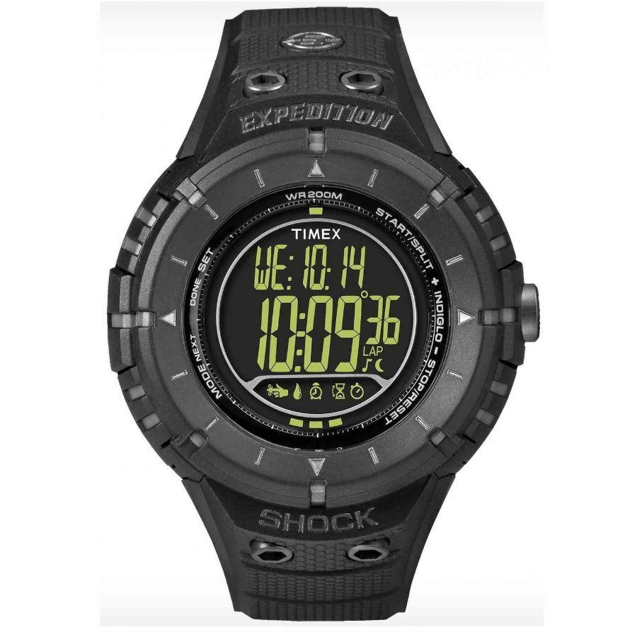 Timex expedition ad tech shock digital watch t49928 for Expedition watches
