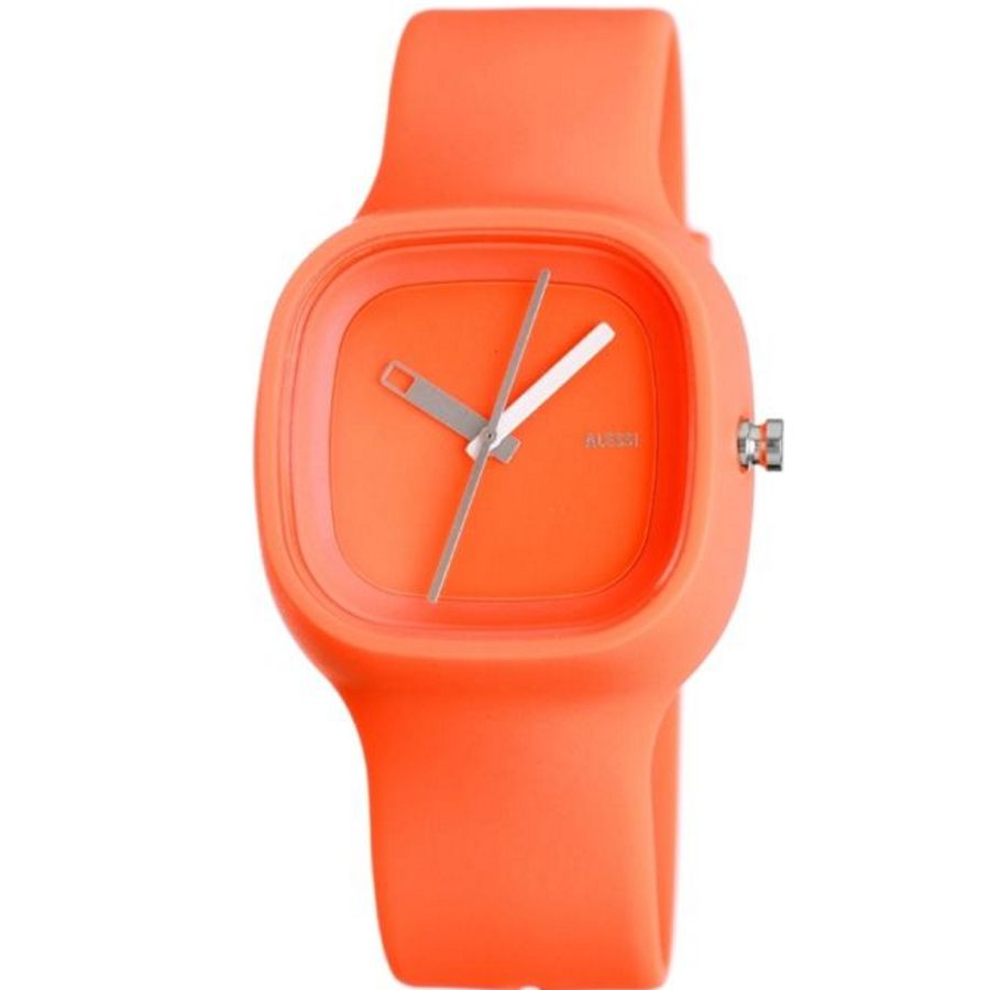 Arne jacobsen furniture - Alessi Unisex Watch Orange Kaj Al10005