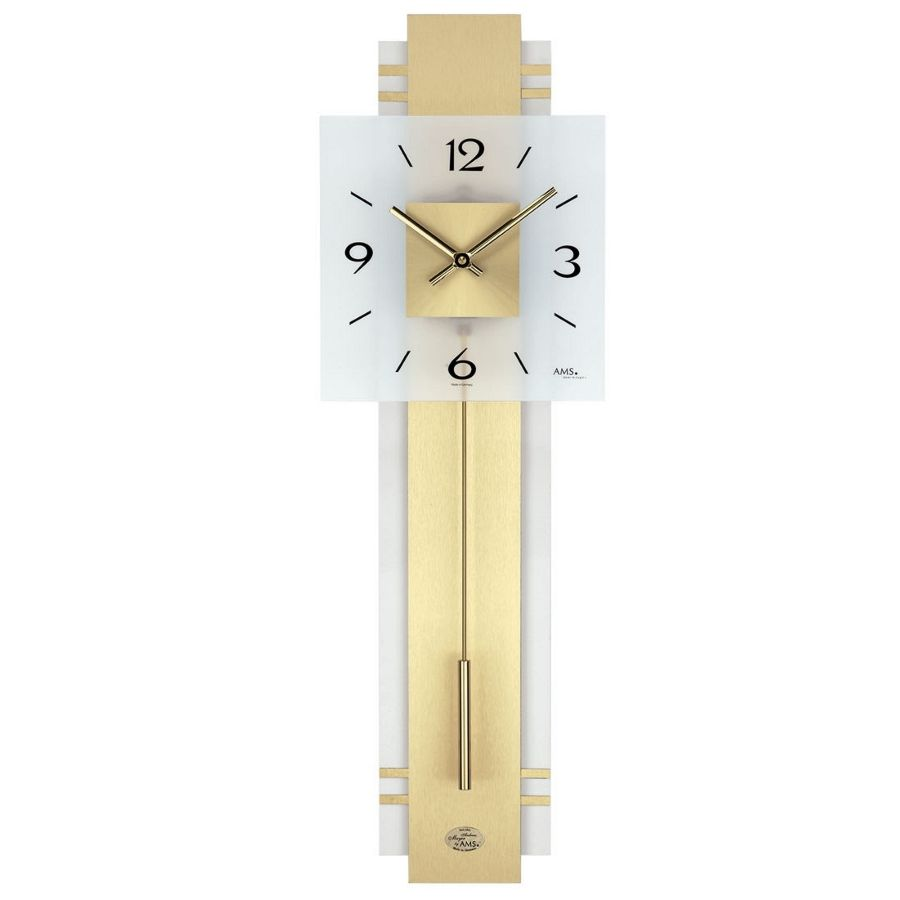 Ams 7301 stylish modern wall clock - Stylish pendulum wall clock ...