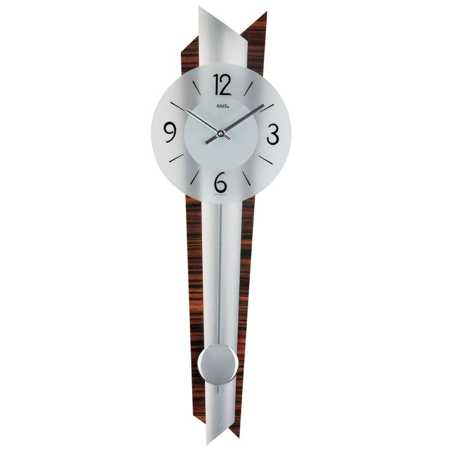 Ams 7311 stylish modern wall clock - Stylish pendulum wall clock ...