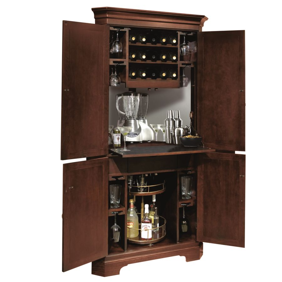 Howard Miller 695 111 Norcross Wine And Bar Cabinet
