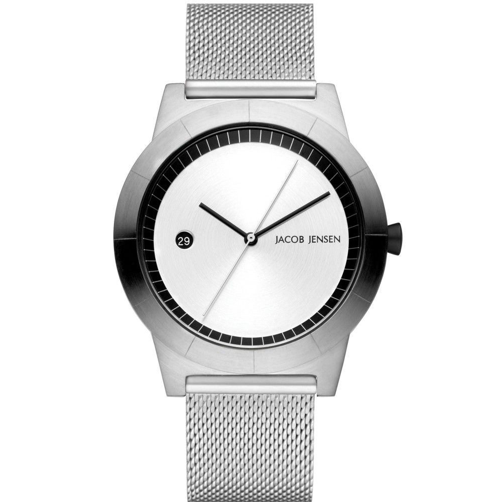 shop tone aa strap mesh online black silver watch crystal watches product swarovski web memories en