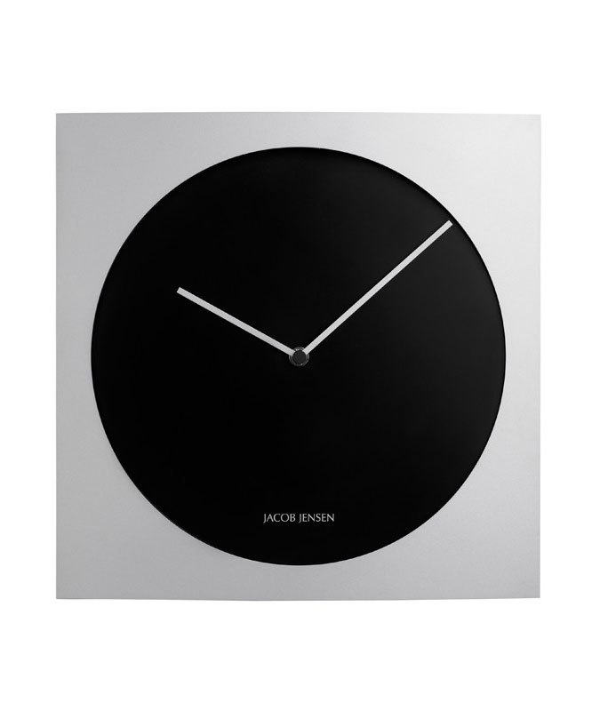 jacob jensen 318 wall clock. Black Bedroom Furniture Sets. Home Design Ideas