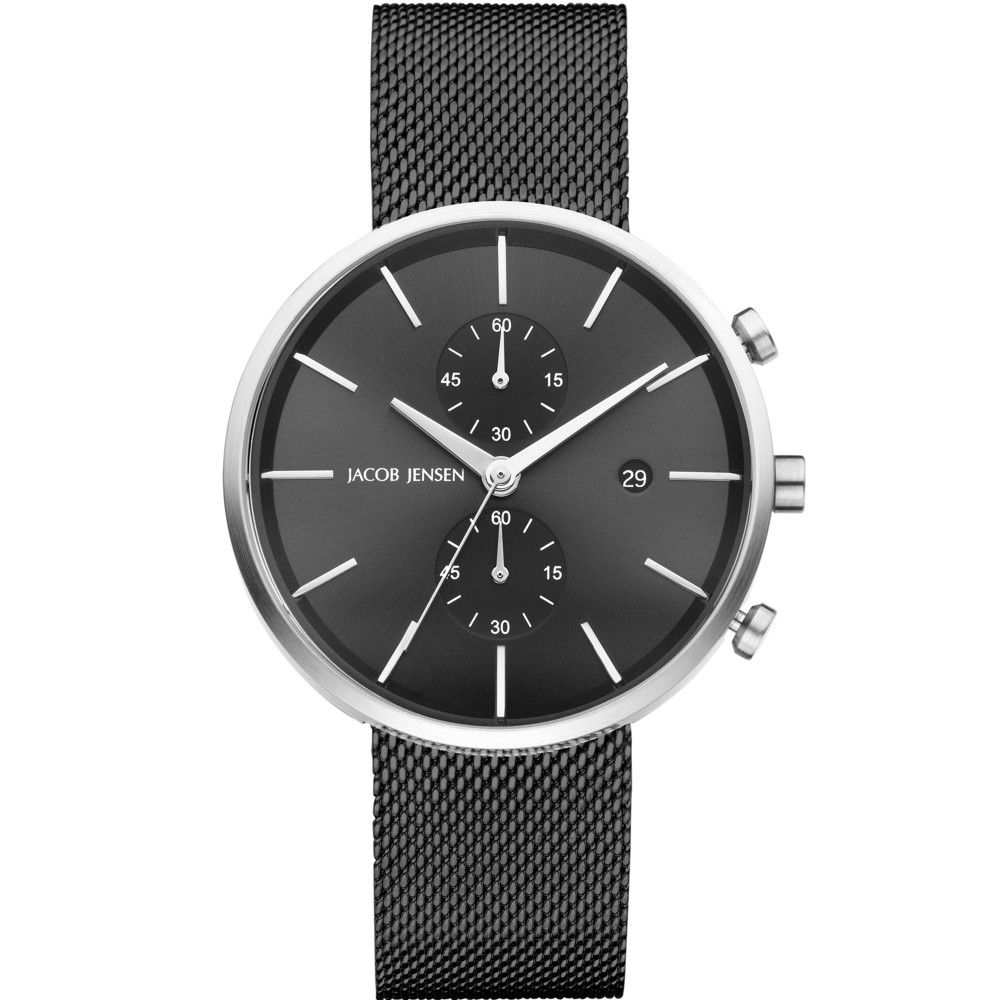 image men steel watch metal boss mesh s mens from hugo jackson watches bracelet