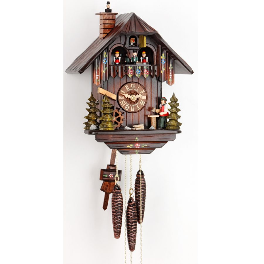 Musical Cuckoo Clock With 1 Day Movement By Hubert Herr