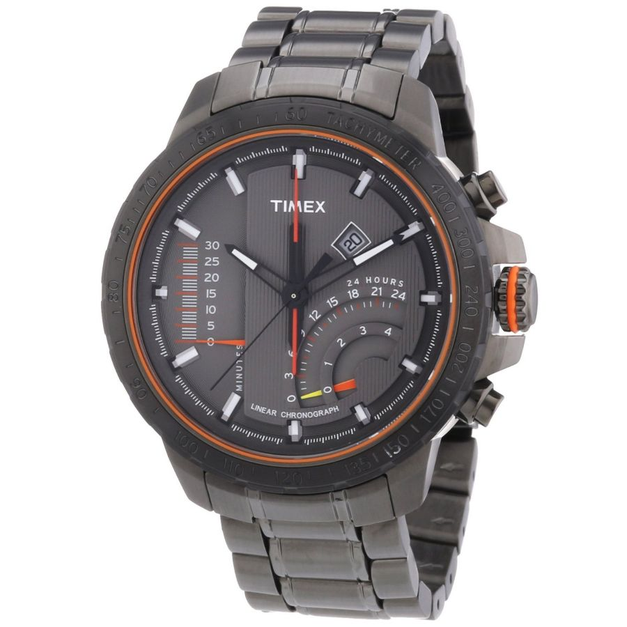 Timex adventure series linear chronograph gent s watch t2p273 for Adventure watches