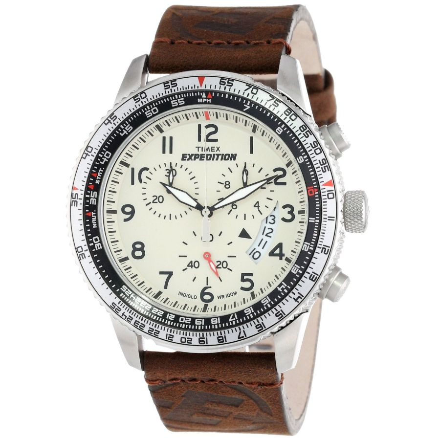 how to use timex expedition chronograph