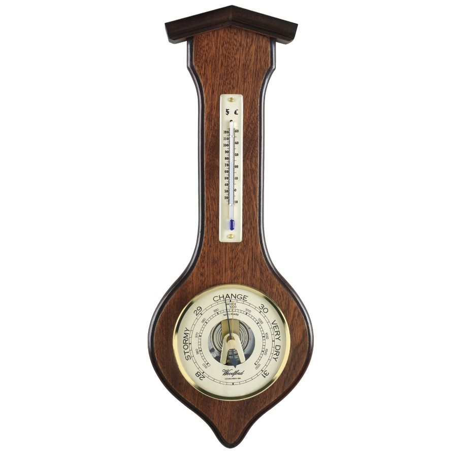 how to read an aneroid barometer